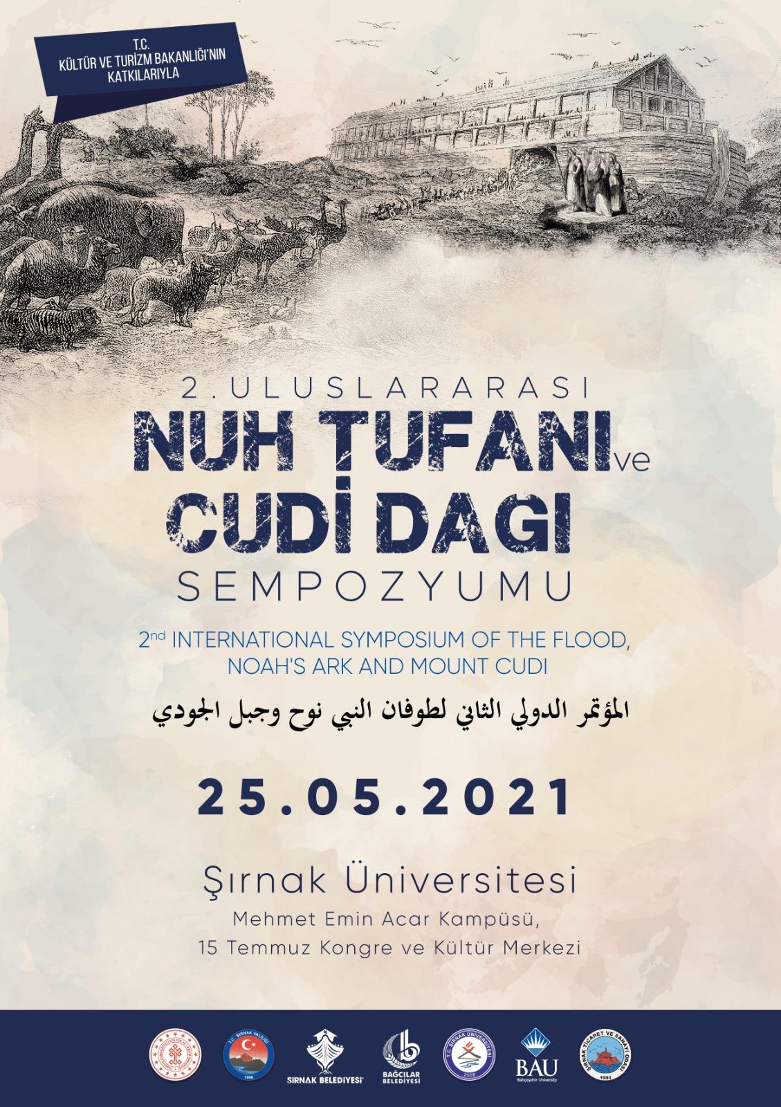 2. Uluslararası Nuh Tufanı ve Cudi Dağı Sempozyumu
