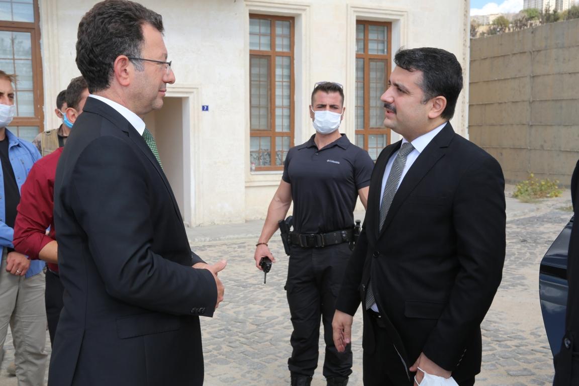 Rektörümüz Prof. Dr. Erkan, Cizre Kaymakamı Tunç'u makamında kabul etti...