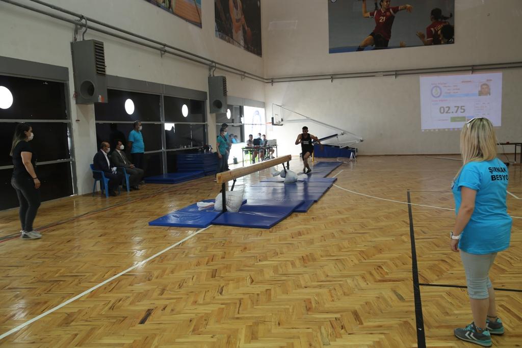 Üniversitemizde Beden Eğitimi ve Spor Öğretmenliği Özel Yetenek Sınavı Yapıldı...